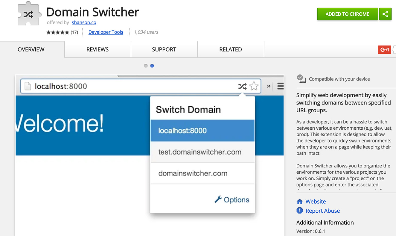 Domain Switcher
